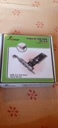 Placa de USB para PC 2.0