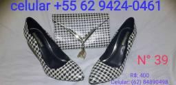 Sapatos Carmen steffens  e shurtz  e tabita