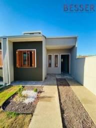 Casa Nova 2 Dormitórios | Pátio Frente e Fundos | 2 vagas de garagem