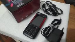 """Nokia 5310 Red XpressMusic pequeno pratico """" novo """" ultrafino """""""