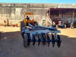 Grade Aradora de Controle 14x26 - Tk Tratores Nova Andradina - MS