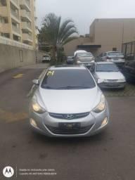 Elantra c/Teto solar c/GNV carro de precedência, revisado e com garantia