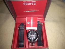 Relógio Technos Sports 3 pulseiras.