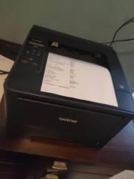 Impressora brother laser preto + impressora brother térmica etiqueta Ql-570 biz gol