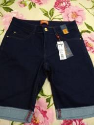 Bermuda Handara número 42 jeans com Lycra nova