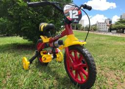 Bicicleta Infantil 3-5 anos de idade. Várias cores e modelos, masculino e feminino