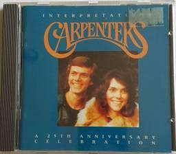 CD CARPENTERS álbum As 25 mais- aniversary celebration