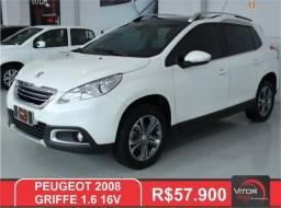 Peugeot 2008 Griffe 1.6 Flex 16V 5p Mec. 2016 Gasolina