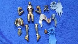 Cloth myth armadura, object shaka bandai ex e cabelos saga ex bandai
