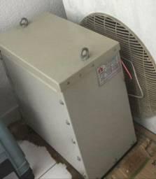 Transformador a seco reversível 380v a 220v 15kva omega