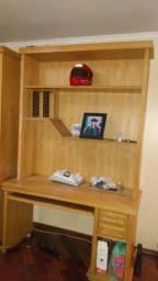 Estante para computador madeira Marfim