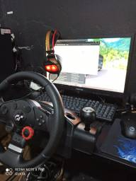 PC GAMER COMPLETO C/ LOGITECH DRIVING FORCE GT