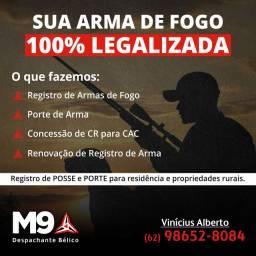 Tenha sua arma legalizada!