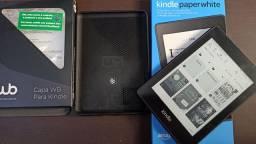 Kindle Paperwhite 8 GB - Agora à prova d´água<br><br>( Usado apenas para unbox).