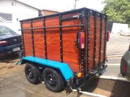 Capacidade de peso 2.500 kg chassis reforçado
