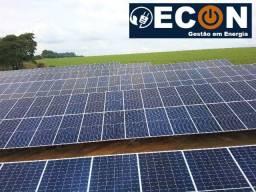 Reduza em até 95% de sua conta de energia elétrica. Instale sua própria energia solar