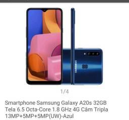SAMSUNG A20S AZUL 32GB