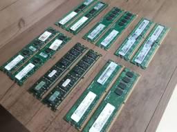 Memória RAM ddr2    1gb ( 2x512)