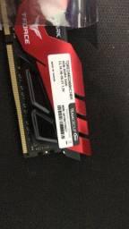 2 Memorias Ram gamer 4 gigas dd4 2400 (Novas)