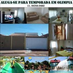 Casa pra temporada em Olimpia