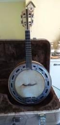 Banjo de Faia Luthier Rogério Santos com Estojo