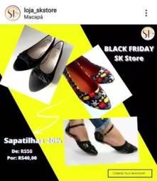Sapatilhas na Black Friday SK Store