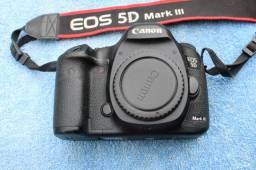 Câmera fotográfica profissional canon 5d mark lll