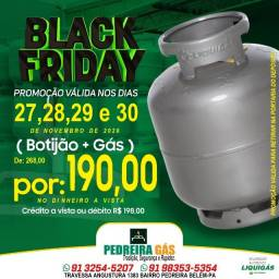 Black Friday botijão completo