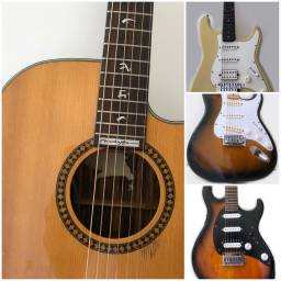 Black Friday guitarras violões e caixa.