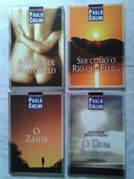 4 livros de Paulo Coelho