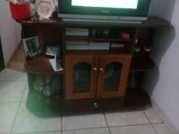Rack, TV e receptor