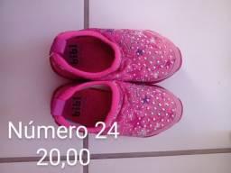 Título do anúncio: Sandálias infantil Seminovas