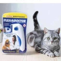 Título do anúncio: Pente Elétrico Anti Pulgas Carrapatos e Parasitas P/ Cachorro e Gato Flea Doctor