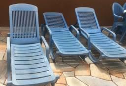 Cadeira ou espreguiçadeira Tramontina de piscina