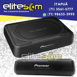 Caixa Amplificada Subwoofer Slim Pioneer TS-WX130EA 160W na Elite Som