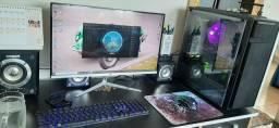 PC gamer (Roda muitos Jogos) pc muito bonito.