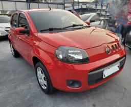 Título do anúncio: Fiat Uno Vivace 1.0 8v flex completo financia