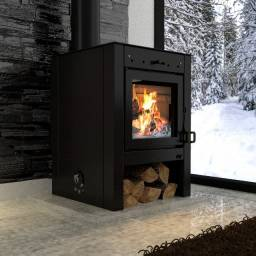 Calefator/lareira Canadense Mf Fire Pró P - Aquec. 100 M²