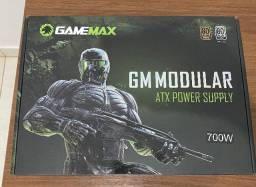 Fonte Gamemax modular 700W 80 plus