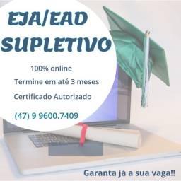EJA/Supletivo EAD 2021
