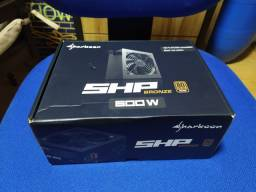 Fonte Sharkoon SHP 600W Bronze 80+