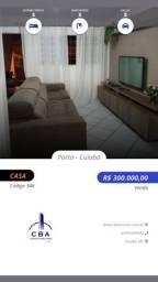 Cohab Canelas VG, 03 quartos sendo 01 suíte