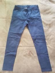 Calça Leggin Azul Marinho - 7/8 anos