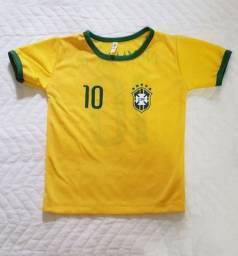 Título do anúncio: Camisa Brasil 2 anos