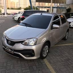 Toyota Etios 1.3x 2017/2018 Automático.