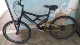 bicicleta + FOGÃO INOS 6 BOCAS AUTOMÁTICO  BRASTEMP + MICROONDAS