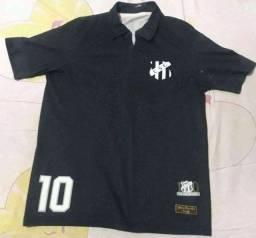 Título do anúncio: Vendo camisa oficial do ceará penalty 2014  preta Tam p com marcas de uso