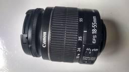 Título do anúncio: Lente 18-55 Canon (Precisando de manutenção)