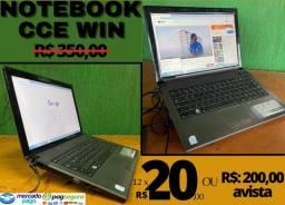 Notebook Cce Win - 4gb de Ram, 320gb de HD, [Notebook] Compra segura Leia a Descrição