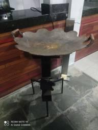 Arado + fogão ou chapa de ferro + fogão